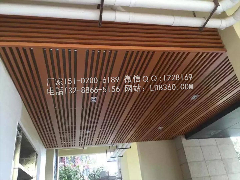 铝方管吊顶施工 (3)