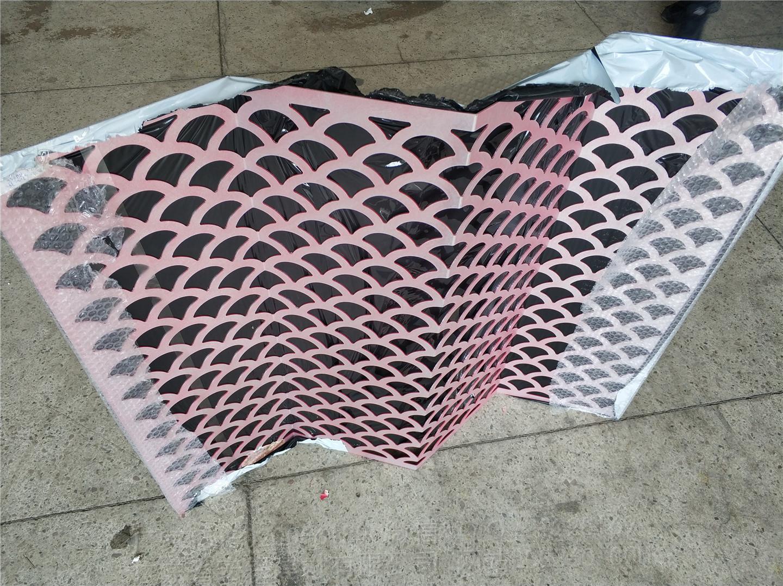 三角波浪雕刻板