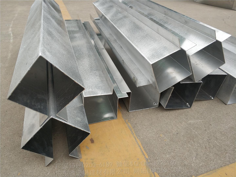 铝方通吊顶剖面图