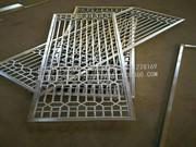 铝格栅、花格栅、窗花_方管焊接窗花护栏 (18)