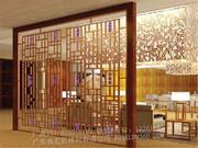铝格栅、花格栅、窗花_复古铝格栅装饰 (4)