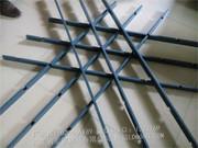 铝格栅、花格栅、窗花_五角形铝格栅、隔断 (1)
