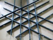 铝格栅、花格栅、窗花_五角形铝格栅、隔断 (3)