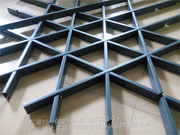 铝格栅、花格栅、窗花_五角形铝格栅、隔断 (4)