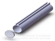 U型铝方通、铝型材方管_IMG_20161437993292506