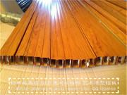 U型铝方通、铝型材方管_木纹方通天花