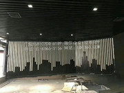 U型铝方通、铝型材方管_艺术方通背景墙 (1)