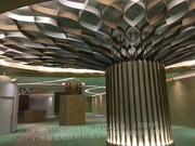 2018年图册(铝板幕墙天花)_树叶造型柱 造型装饰板 艺术装饰板