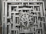 2018年图册(铝板幕墙天花)_艺术铝窗花 复古护栏窗花 艺术格栅窗花